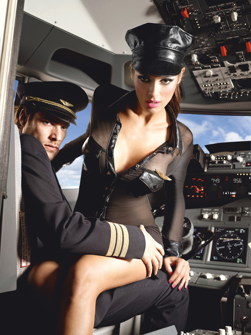 Stewardess - Businessman