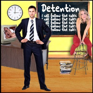 Student Detention Sex Role Play